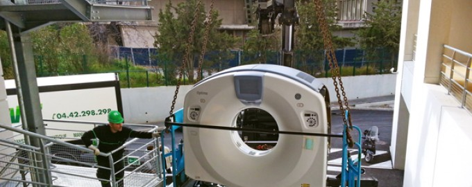 MRI Delivery and installation