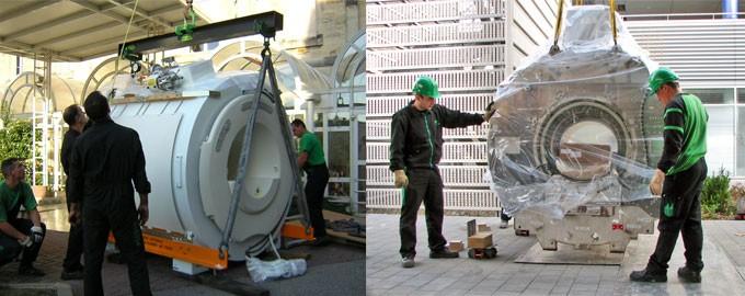 Livraison et installation de matériel médical