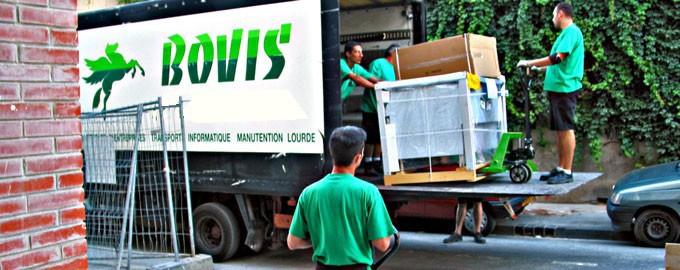 Transport conventionnel de machiones-outils