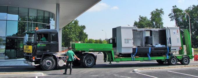 Transport de matériel dans le secteur de l'énergie