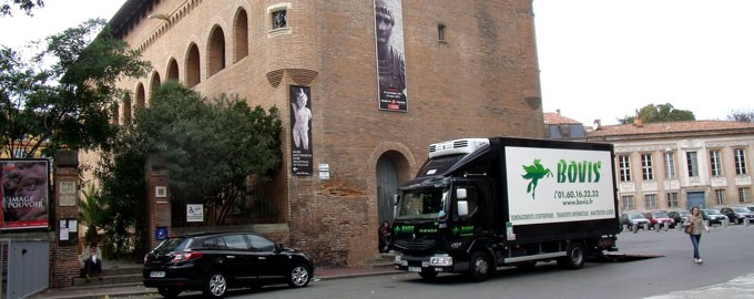 St Raymond museum in Toulouse