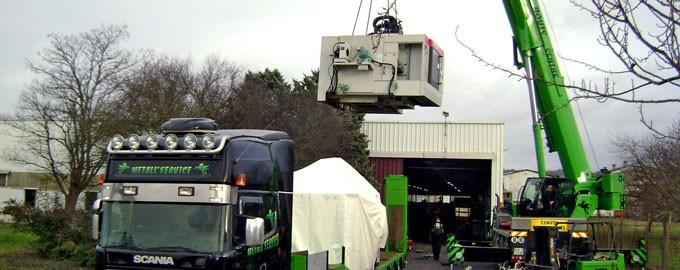 Transfert industriel et Manutention lourde