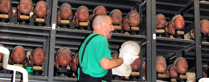 Nos Références : Transfert des oeuvres du Musée de l'Homme
