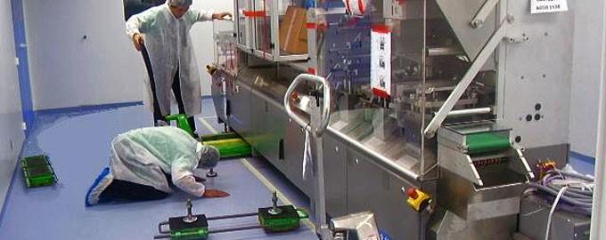 Trabajo en lugar limpio, puro o ultra puro