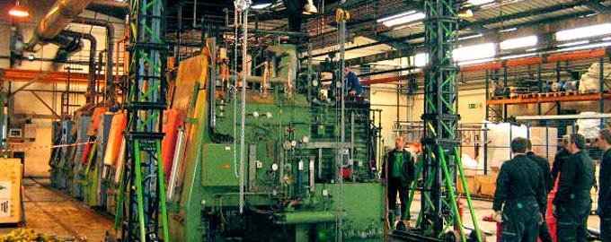Transfert industriel et administratif clé en main