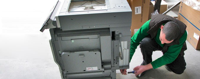 Delivery of xeros machine/photocopiers