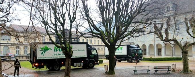 Transfert du CHU de Besançon