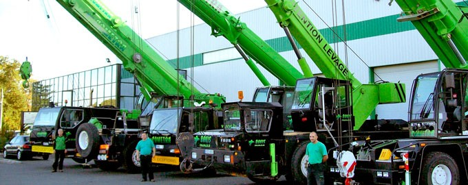 Levage : Grues automotrices