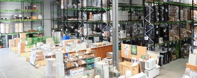 Un entrepôt de 4.000m², facile d'accès, adapté à vos stocks