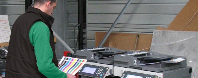 Integration, configuration and delivery of photocopiers