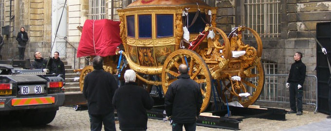 Carrosse royal à Versailles