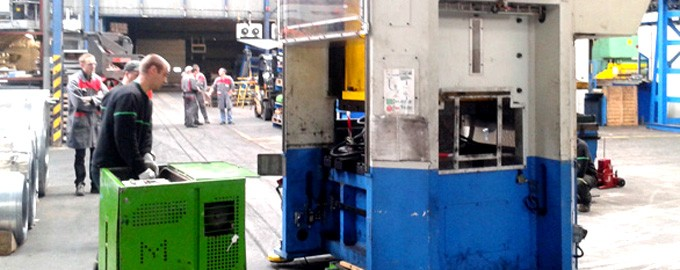Transfert de presse industrielle