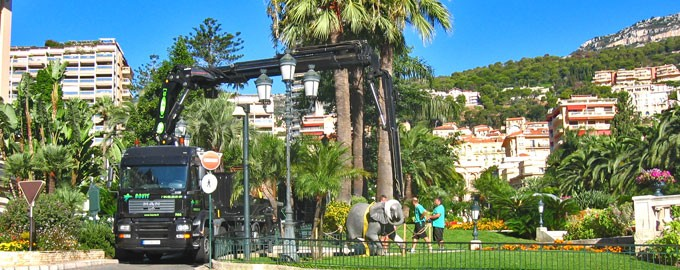 Gardens and museums of Monaco