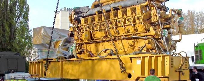 Transport et manutention de machines-outils en Ile de France