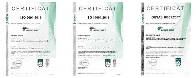 QSE exitosa, con la obtención de certificados