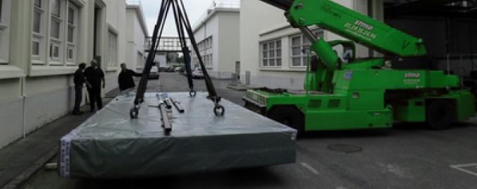 Déménagement de machines-outils en région parisienne