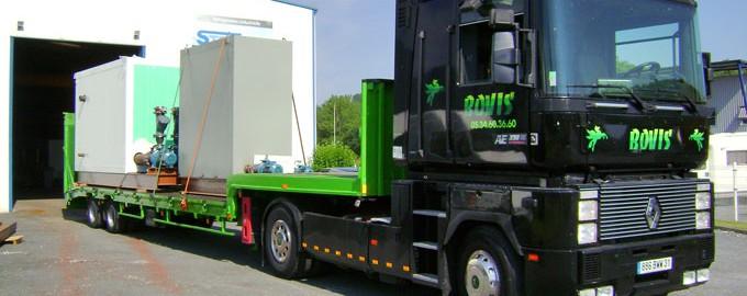Transport et manutention de machines-outils