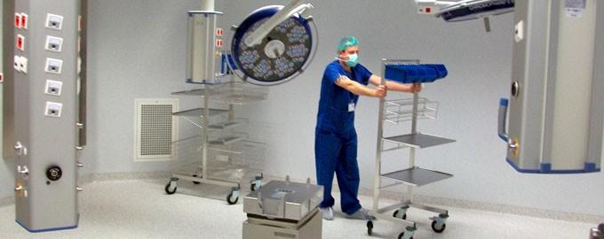 Transfert clé en main ; expertise en déménagement d'Hôpitaux clé en main
