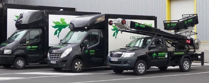 Des véhicules adaptés à tous types de chantier