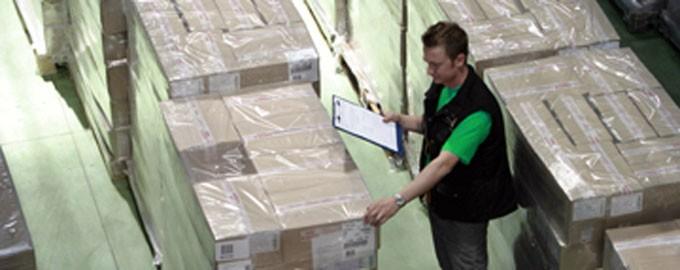 Logística: preparación de pedidos, agrupamiento, inventario…