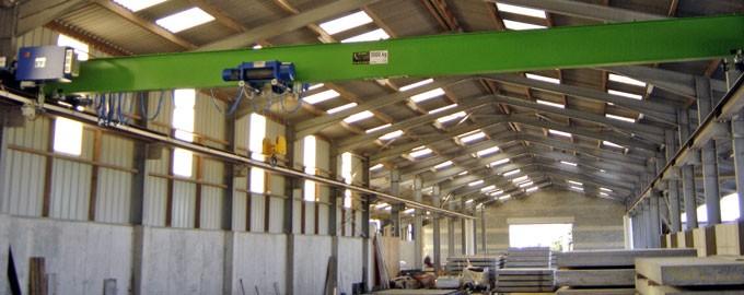 Fabrication et réparation de ponts roulants