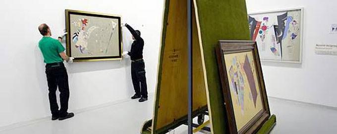 Montaje de exposiciones temporales