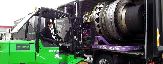The very latest handling equipment