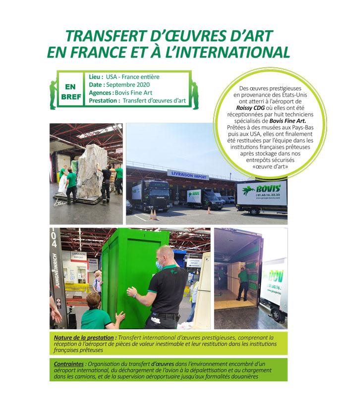 Coordination d'exposition internationale pour les plus grands musées français et étrangers