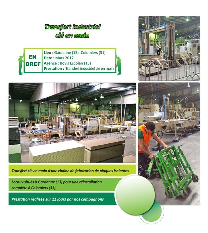 Transfert industriel Gardanne