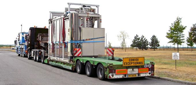 Transport conventionnel ou exceptionnel de machines en Normandie par DML