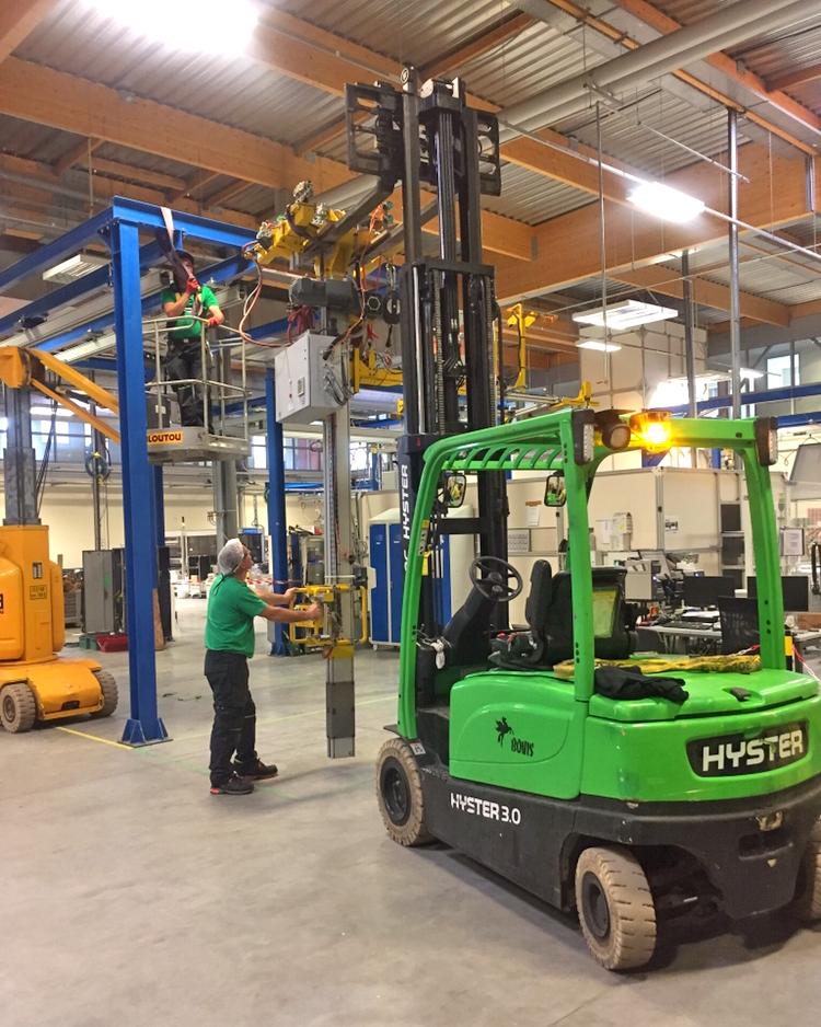 Manutention en Moselle Rousselot manutention