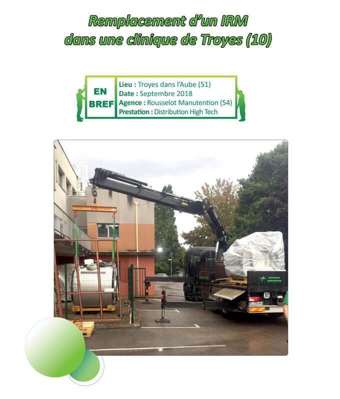 Remplacement d'un IRM dans une clinique de Troyes (10)