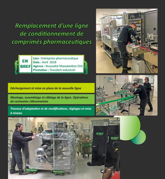 Manutention Transfert industriel Lorraine