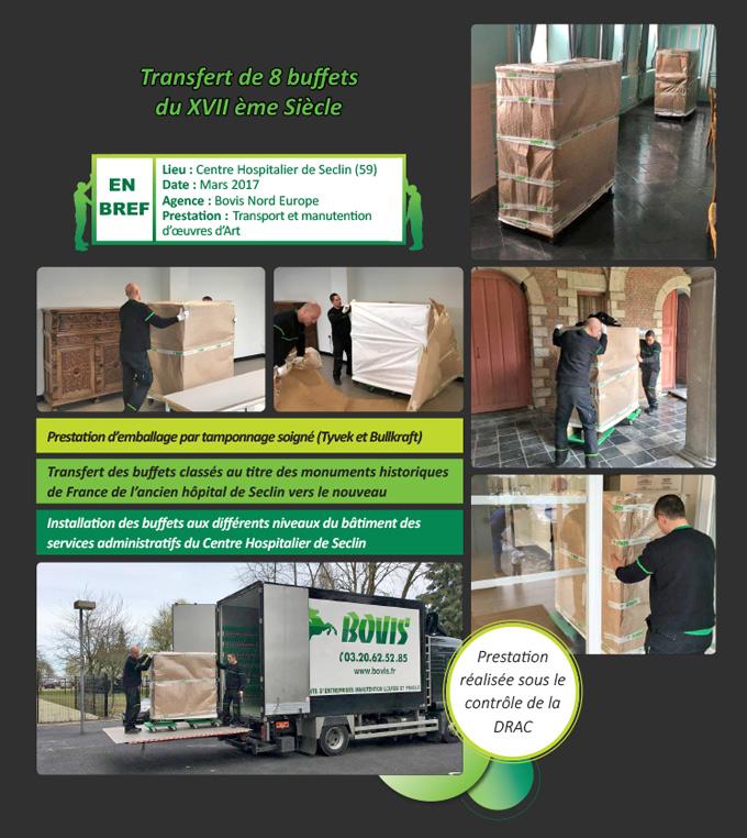 Transport de mobiliers
