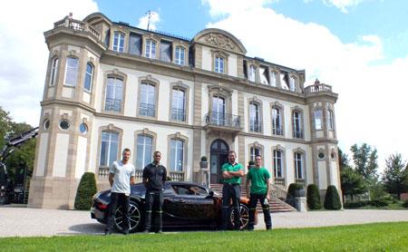 sep 13 manutention d 39 une bugatti veyron en alsace nos actualit s groupe bovis. Black Bedroom Furniture Sets. Home Design Ideas
