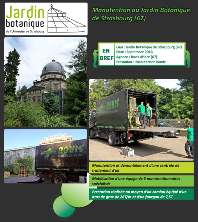 Manutention au jardin botanique de strasbourg 67 nos actualit s groupe bovis - Jardin botanique de strasbourg ...