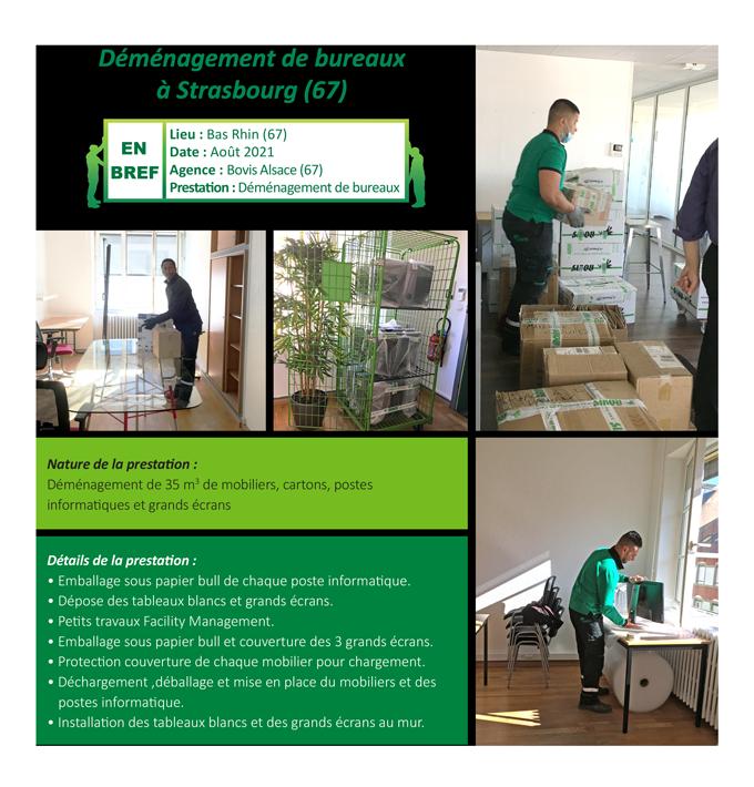 Déménagement de bureaux à Strasbourg