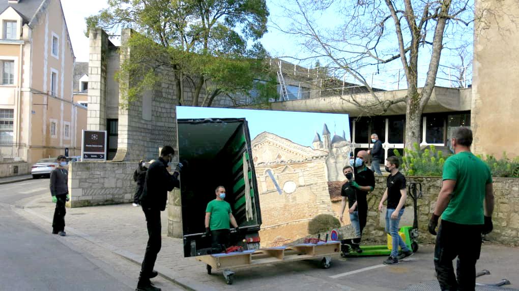 Transport d'œuvres d'Art Poitiers