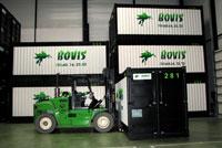 Stockage et logistique dans entrepôts Bovis transports