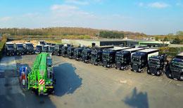 Engins de manutention et de levage - Bovis Transports, Groupe Bovis