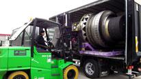 Levage manutention de machines high tech en Ile de France par Bovis Transports