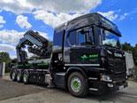 Camion bras de grue à Paris et en Ile de France - Bovis transports