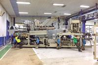 Transfert industriel et déménagement d'usine par Bovis transports