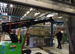 Transfert industriel ligne de production - Bovis Transports