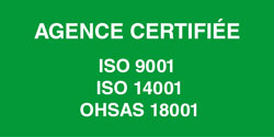 Bovis transports Agence certifiée ISO