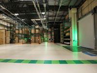 Entrepôts sécurisés  pour équipements et machines industrielles à Paris Nord - Marchal Technologies
