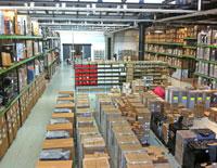 Vastes surfaces de stockage pour machines industrielles chez Marchal Technologies