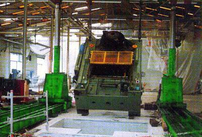 Mise en place, couchage ou relevage de presse industrielle