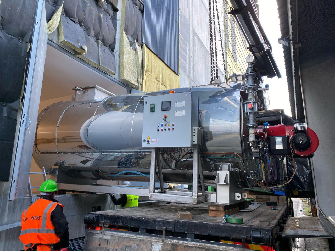 Livraison spécialisée de générateurs de chaleur par Marchal Technologies en Ile de France