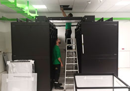 Manutention de data Center en Ile de France par Marchal technologie